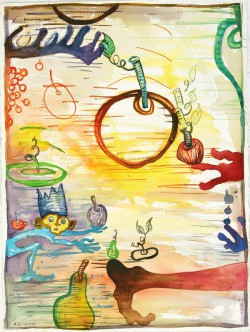 My Fruit 30x22_ watercolor#5FB9 resize