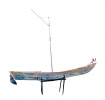 Fruit Boat 78x82x11 inches, email